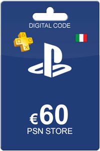 Playstation Network Card 60 Euro IT
