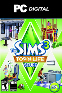 The Sims 3: Town Life Stuff DLC PC