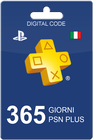 PlayStation Plus 365 giorni IT